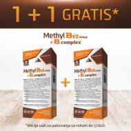 Methyl B12 1000 µg + B complex, vitamin B12 sa kratkim rokom