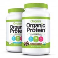 Orgain organic plant protein powder