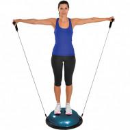 MSD balanser za ravnotežu tela polulopta + guma sa rukohvatima