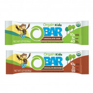 Orgain Kids O-BAR, protein bar for children, 10 x 36 g