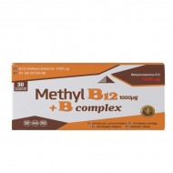 Methyl B12 1000 µg + B complex, vitamin B12