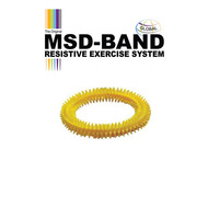 MSD Massage Ring, yellow
