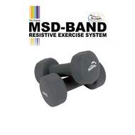 MSD neoprene dumbbells, hand weights (2 pieces)