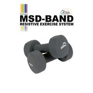 MSD Neoprenski ručni teg - Mambo Max (par)