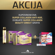 Super Collagen Anti-age shots 14 x 25ml (2 kutije) + GRATIS Super Collagen Beauty Direct