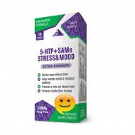 : 5 HTP + SAMe STRESS & MOOD serotonin capsules, 15 capsules