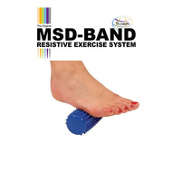 MSD Massage roll 16cm blue