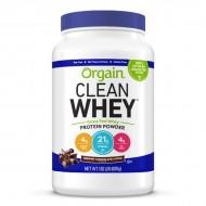 Orgain Whey protein powder, 828 g
