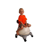 MSD Plastic ball chair kid
