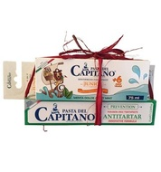 Del Capitano, toothpaste and toothbrush kit, 6+