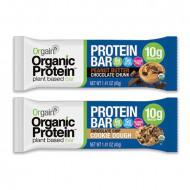 Orgain Organic protein bars, 12 x 40 g