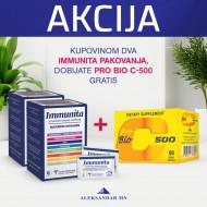 Immunita (2 kutije) + GRATIS Pro Bio C - 500