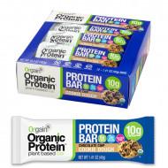 Orgain Organic proteinska pločica, 12 x 40 g