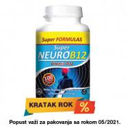Super Neuro B12 kompleks, vitamin B12 - sa kratkim rokom