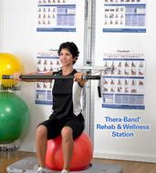 Thera Band Rehab Vellness stanica, sprave za vežbanje