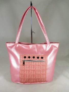 Geanta dama mare roz