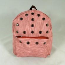 Rucsac dama roz cu capse