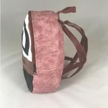 Rucsac negru cu roz cu paiete