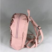 Rucsac roz cu paiete