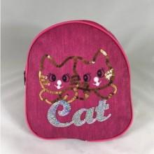 Rucsac roz cu pisicuta