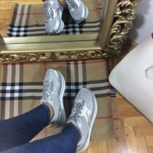 Adidasi dama argintii