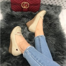 Pantofi dama bej
