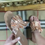 Papuci dama aurii