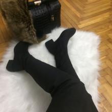 Cizme dama negre lungi