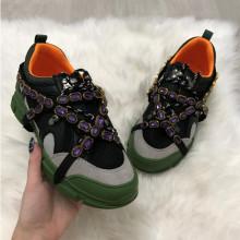 Adidasi dama negri cu verde S50