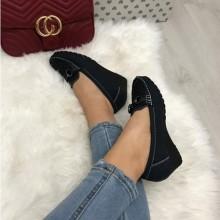 Pantofi dama bleumarin