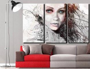 Slika na platnu Nina157