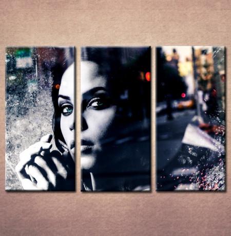 Slika na platnu Devojka portret 30028_3