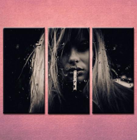 Slika na platnu Devojka sa cigaretom Nina3029_3