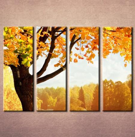 Slika na platnu Jesenje drvo Nina3005_4