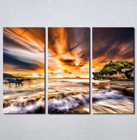 Slike na platnu More i zalazak sunca Nina068_3