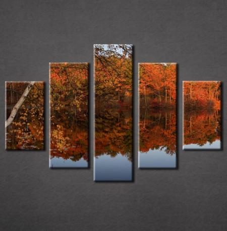Slika na platnu Jesen reka 3017_5