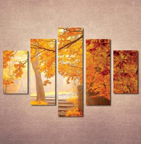 Slika na platnu Jesen u parku Nina3071_5