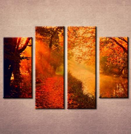 Slika na platnu Šuma u jesen Nina 3008_ 4