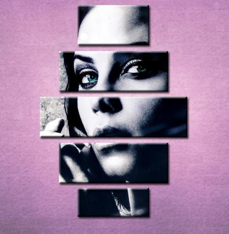 Slika na platnu Devojka portret 3028_ 5