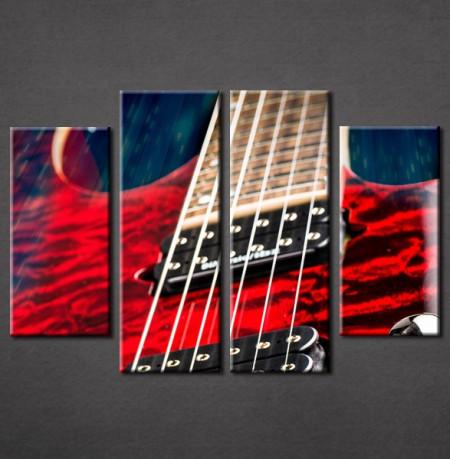 Slika na platnu Elektična gitara Nina3040_4