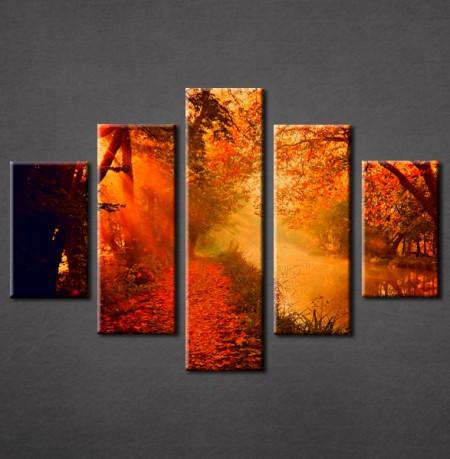 Slika na platnu Šuma u jesen Nina3008_5