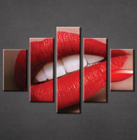 Slika na platnu Crvene usne Nina3032_5