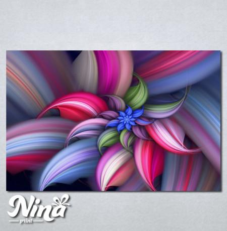 Slike na platnu Šarena apstrakcija Nina251_P