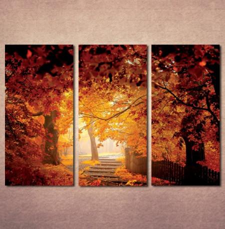 Slika na platnu Jesen u parku Nina3071_3