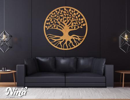 Dekor Nina Drvo krug nd016h