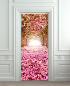 Nalepnica za vrata Čudesna šuma 6125