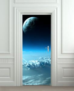 Nalepnica za vrata Mesec 6088