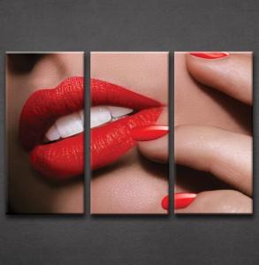 Slika na platnu Crvene usne Nina3032_3