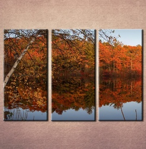 Slika na platnu Jesen reka 3017_3
