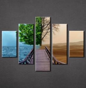 Slika na platnu Most i drvo Nina3067_5